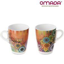Taza de leche, 2 tazas de desayuno en plástico irrompible, Plexart Omada Design