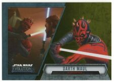 2016 Star Wars Evolution Gold 95 Darth Maul Nightbrother 07/50