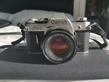 Canon AE-1 Film Camera/SLR 50 mm-Canon 1:1.8 Lens-Excellent Clean Condition