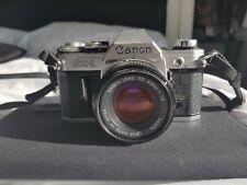 Película de Canon AE-1 Cámara/SLR 50 mm Lente Canon 1:1 .8 - - Excelente Estado limpio