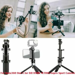 PGYTECH Action Camera Extension Pole Tripod Plus for Insta360/OSMO One X/Gopro