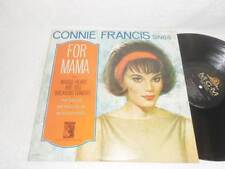 CONNIE FRANCIS~Sings For Mama~1965 MGM ORIG MONO ROCK POP LP EXCELLENT
