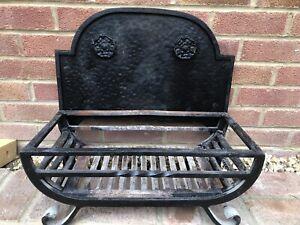 cast iron dog grate