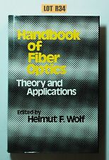Handbook of Fiber Optics : Theory and Applications by Wolf 1980 BOOK LOT R34