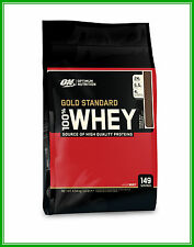 Optimum Nutrition on Gold Standard 10lb Whey Protein Concentrate Isolate WPI WPC Chocolate