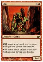 4x Okk MTG 8th Edition NM Magic Regular