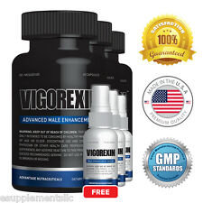 Vigorexin (3 pack) & 3 FREE Serums - Male Enhancer - Improves Sexual Performance
