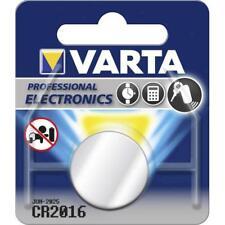 CR2016 Varta Batteria 3V LITIO a Pastiglia in Blister Scad.2027