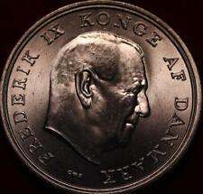 Uncirculated 1964 Denmark 5 Kroner Silver Foreign Coin