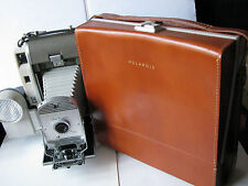 Vintage Polaroid 800 Instant Film Camera - w/ Leather Case + Extras - Near Mint