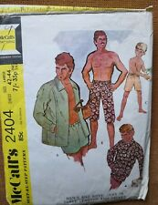 MEN'S JAMS in THREE LENGTHS and JACKET (1970)