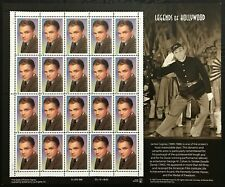 1999 Scott #3329 - 33¢ James Cagney - Legends of Hollywood - Sheet of 20 - MNH