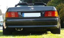WUNSCH SOUND für MERCEDES R129 SL EDELSTAHL SPORTAUSPUFF AMG 300 320 500 600 TÜV