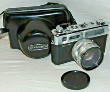 Vintage Yashica Electro 35 Film Camera 35mm Rangefinder w/ Cap & Case
