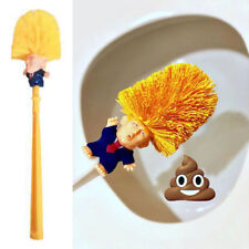 Toilet Cleaning Brush Holder Donald Trump Base WC Funny Xmas  Christmas Gift