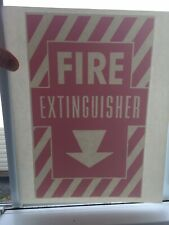 Vintage Fire Extinguisher Sexy Iron-On Transfer