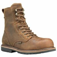 """Timberland PRO Men's Millworks 8"""" Composite Toe Waterproof Industrial Boot A1RXW"""