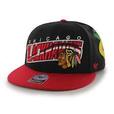Chicago Blackhawks 47 Brand Hazelwood 2 Tone Cap Hat Snapback