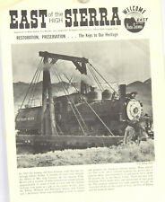 East of the High Sierra 8 pages A tribute to the end of rail operations