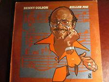 "JAZZ LP: BENNY GOLSON ""KILLER JOE"" 1977 COLUMBIA FIRST PRESS PC 34678  VG+  VG+"
