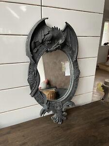 Ornate Mythical Dragon Framed Wall Mirror Stunning