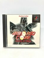Sony PS1 PLAYSTATION - Armored Core : Master Of Arena The Best - Version Japon