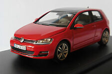 VW VOLKSWAGEN GOLF VII 7 RABBIT 2012 RED HERPA 1/43 ROUGE ROT ROSSO BERLINE
