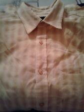 Jones New York Men's Short Sleeve Button Down Shirt- Med