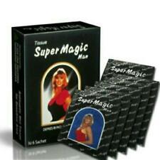 2 boxes(12pcs) SUPER MAGIC TISSUE delay ejaculation & Long Sex,penis antiseptic
