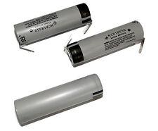 2Pcs Panasonic Rechargeable Li-ion Battery NCR18650 3.6V 2900mAh from Japan U/R