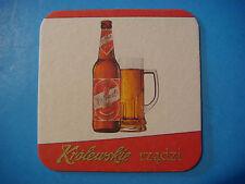Beer Coaster ^**^ WARKA Brewery Krolewskie ~*~ Grupa Zywiec ~ Królewskie, POLAND