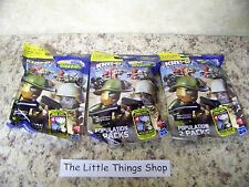 3 Packs of Kre-O Cityville Invasion Population Collection 1 Figures