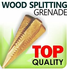 Wood Log grenade bombe fendre/Séparateur Hache Wedge Maul Scie