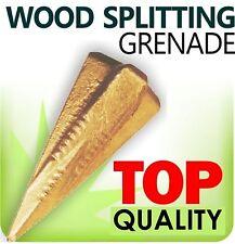 Wood Log Grenade Bomb Splitting/Splitter Axe Wedge Maul Saw