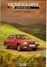 Vauxhall Opel December 1985-February 1986 UK Market Brochure Astra Cavalier