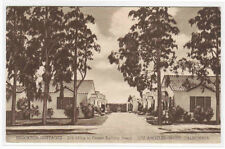 Brockton Cottages Santa Monica West Los Angeles California postcard