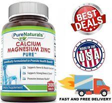 CALCIUM MAGNESIUM ZINC 1000 mg Bone Support Health Dietary Supplement 300 Tabs