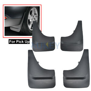 4X4 Car Fender Mud Flaps Mudguards Splash Guards For Pickup Van Truck UNIVERSAL