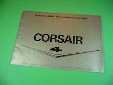 406KA2 Alter 60er Jahre Prospekt, Brochure: Ford CORSAIR V4