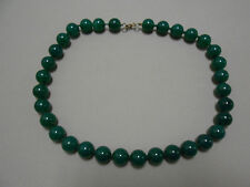 Collar AGATA VERDE bola 12mm (C-012)