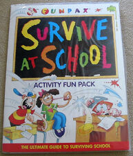 ACTIVITY FUN PACK Survive At School NEW/SEALED Grammar decoder Times Table