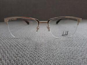 Dunhill Half Rim Eyeglasses Frame Model VDH064 Color Shinny Gold 54-17