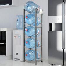 Heavy Duty Bottle Storage 3 4 5 Tier Water Cooler Jug Rack Detachable Shelves