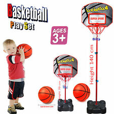 Kids autoportante basketball réglable planche hoop net toy set medium
