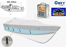 TREM Covy Line Large Boat Cover for Boats 550 - 620cm or 18Ft to 20 Ft in Length