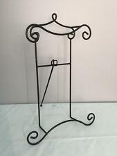 Large Platter Plate Picture Wire Metal EASEL Holder Wedding Art Display