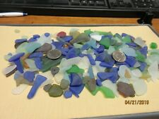 Sea Glass Inspired -:- Reclaimed -:- 1lb of Medium Size -:- Multi Colored Mix