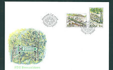 Aland 1999 Bronze Age relics set on unaddressed post office first day cover