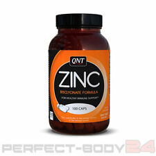QNT Zinc Bisclycinate Formula 100 Kapseln Glas 22,3mg Zink Mineralstoffe