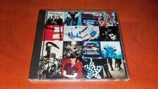 U2 ACHTUNG BABY CD MEGA RARE ORIGINAL POPRON CZECHOSLOVAKIA 1992 NO BARCODE